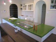 CASAの施工実績「好きな色でオーダーキッチン」